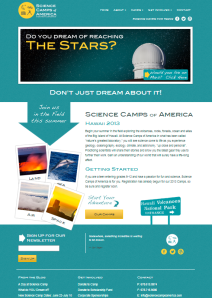 Science Camp Web Site